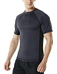 Men's UPF 50+Swim Wear Swim Tee Rashguard Top MSS01/MSR15