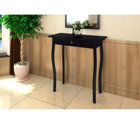 Console Table MDF Black Stylish Excellent Elegant Space MDF 29'' x 14'' x 29'' SKB Family by SKB family (Image #3)