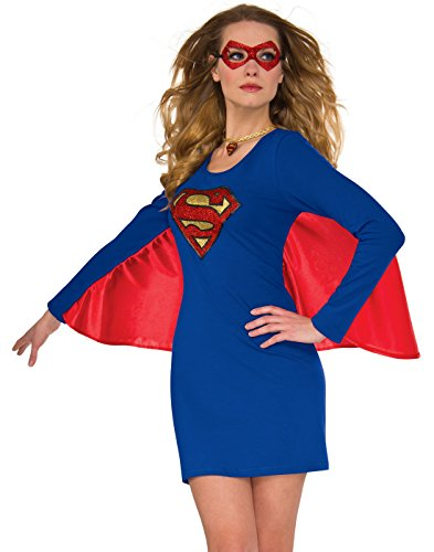 Rubie's Costume 840029-S-M Co Women's Dress, Supergirl, Small-Medium, Small/Medium -