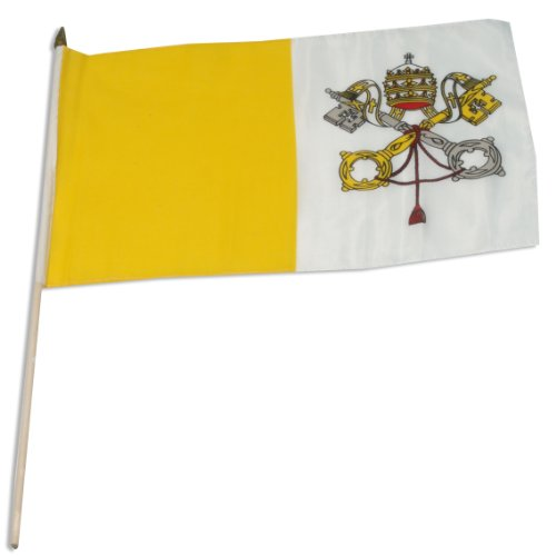 Vatican City Flag - US Flag Store Vatican City Flag, 12 by 18-Inch