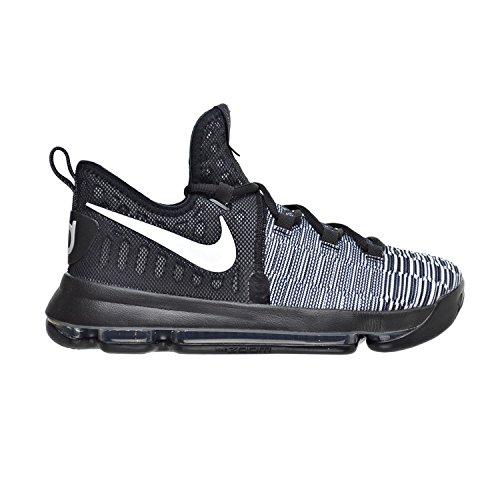 Nike Zoom Kd9 (Gs), Zapatillas de Baloncesto para Niños Blanco (Black / White)
