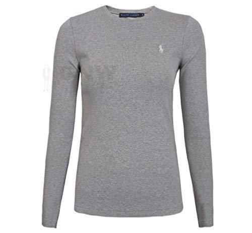 147c134d4 Ralph Lauren Polo Women's LS Perfect TEE/T Shirt/TOP Black, Navy ...