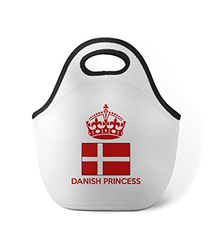 Danish Crown Princess (Danish Princess Crown Neoprene Insulated Lunch Box Bag)