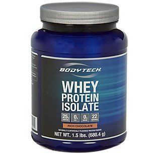 BodyTech Whey Protein Isolate - Rich Chocolate