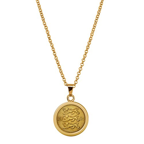 American Coin Treasures Three Lions Coin Pendant