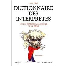 Dict.interpretes & interpretation..