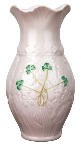 Belleek Fortunes 7 Inch Vase