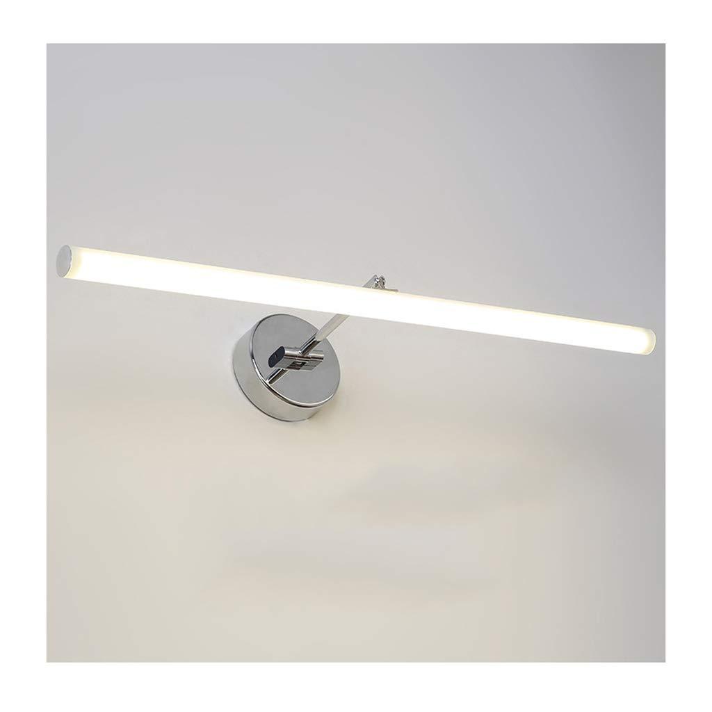 &Badezimmerbeleuchtung Spiegel-Frontleuchte, Anti-Fog-Wasserdichtes Spiegelkabinett-Badezimmer-justierbare Spiegel-Scheinwerfer Licht (Farbe   Neutrales Licht-61CM-12W)