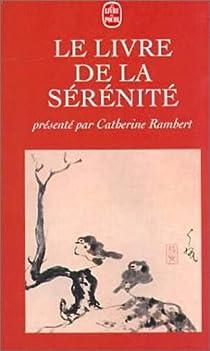 Le livre de la sérénité par Rambert