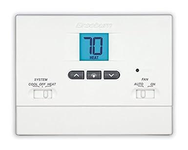 braeburn 1000nc thermostat value non programmable 1h 1c rh amazon com braeburn thermostat 3220 wiring diagram