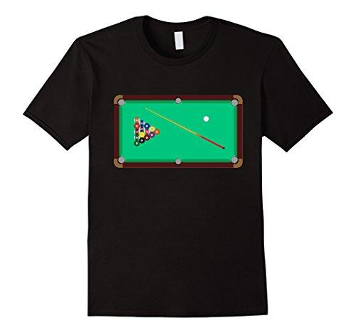 Cool Pool (Mens Pool Table - Cool Billiards T shirt 2XL Black)