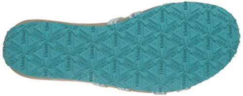 Ahnu Mujeres Iris Textile Usa Flip Flop Junto A La Piscina