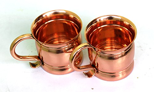 STREET CRAFT Set of 2 100% Authentic Copper