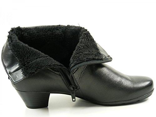 Ankle Gabor 55 637 Boots black schwarz 87 Women O6w6p7