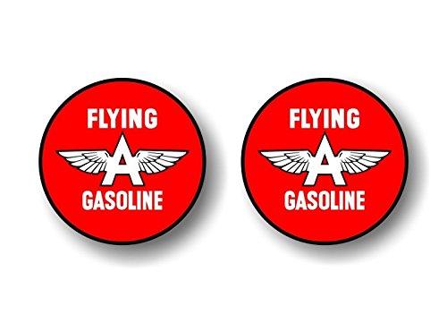 Gasoline Vintage Sign - 2 Vintage Flying A Gasoline Antique Gas Pump 9