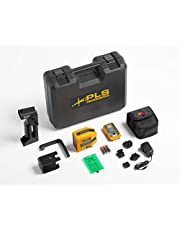 Pacific Laser Systems PLS 6G RBP KIT, Cross Line and Point Green Laser Kit with Rechargeable Battery Pack