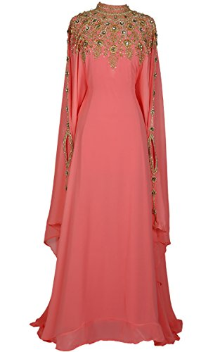 Athena Kaftan For Women -Long Sleeve Maxi Dress, Gown Formal Lounge Wear - Online Website Malaysia
