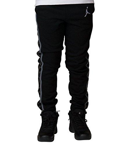 Nike Jordan Youth Boys Varsity Core Fleece Pants Black by NIKE