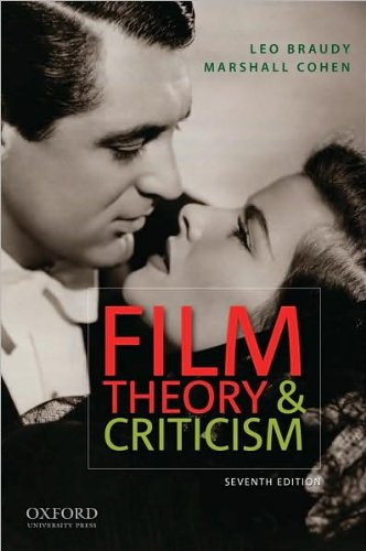 Film Theory And Criticism Text Only 7th Seventh Edition By L Braudy By M Cohen L Braudy M Cohen Amazon Com Books
