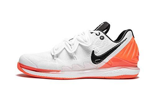 Nike Air Zoom Vapor x Kyrie V (White/Black-White-Hot Lava,11)