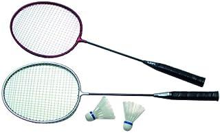 Sunflex Sport Deluxe Set de badminton, 2raquettes, 2balles 2raquettes 2balles 46000