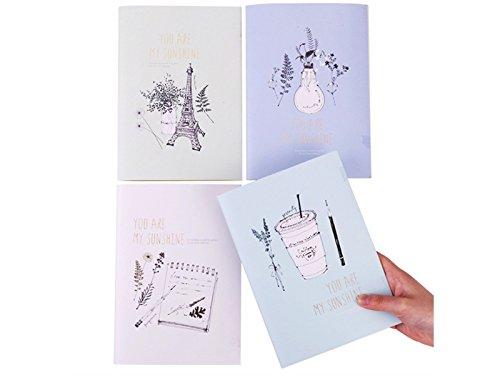 kangqi ufficio Diario personale Quaderni e diari Quaderni per il viaggio scolastico a casa (Colore casuale) Per studente