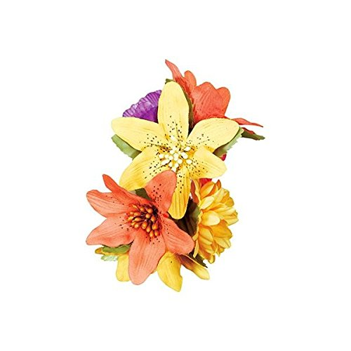 Hawaiian Summer Luau Hair Clip Accessory Childrens Costume,