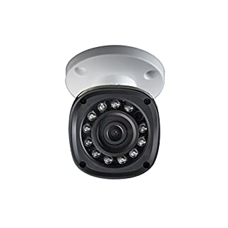 Lorex LBV2521B High Definition 1080p 2MP Weatherproof Night Vision Security Camera (White)