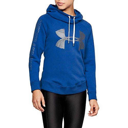 Under Armour Women's Favorite Fleece Pullover, Lapis Blue /Tonal, Large