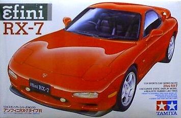 Mazda Efini RX-7 Model Car 1/24 Tamiya