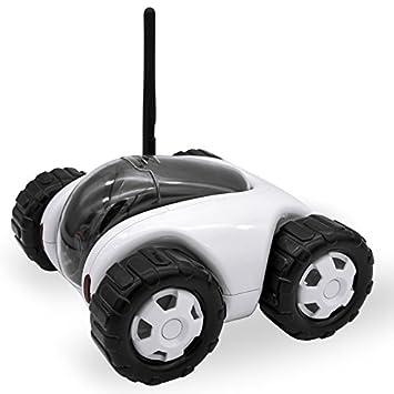 Amazon Com Cloud Rover Tank Robot Wifi Internet P2p Rc Spy Car
