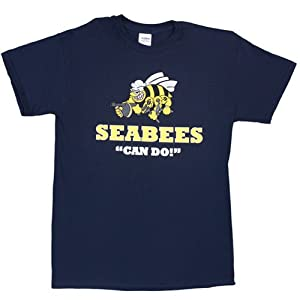 Fox Outdoor Products Navy Seabees One-Sided Imprinted T-Shirt by Fox Outdoor Products