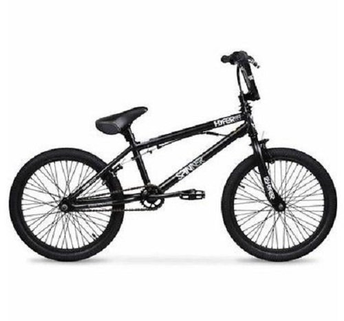 Hyper 20 Spinner Pro Boys' BMX Bike, Black (Spinner Bike) (Black)