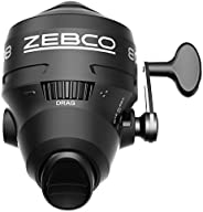 Zebco 808 Spincast Fishing Reel, Powerful All-Metal Gears, Quickset Anti-Reverse and Bite Alert, Pre-spooled w