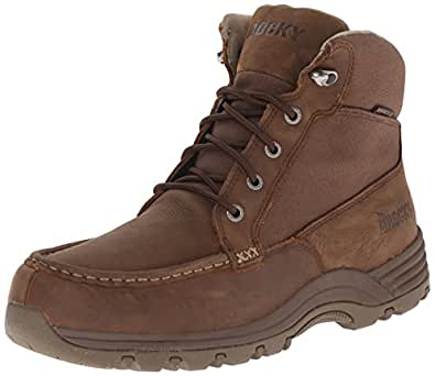 Rocky Men's 6 Inch Lakeland Rugged Casual, Brown, ...