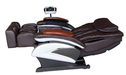 massage chair full body. amazon.com: electric full body shiatsu brown massage chair recliner stretched foot rest 06c: health \u0026 personal care r