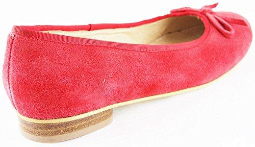 rouge pour Rot femme Hirschkogel Ballerines q5twA