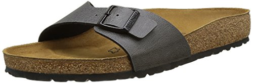 Birkenstock Madrid, Zuecos para Hombre Gris (Pull Up Anthracite Pull Up Anthracite)