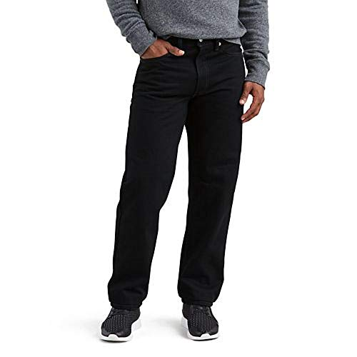 Levi's Men's 550-relaxed Fit Jeans, Black, 36X32