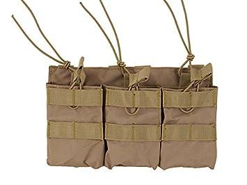 Puerta Cargador 3 bolsillos para cargadores M4/M16/AK/Famas ...