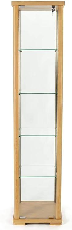 "7152 13.5/""Hx12/""Wx1.5/""D Glass-doored collectors/' display cabinet"