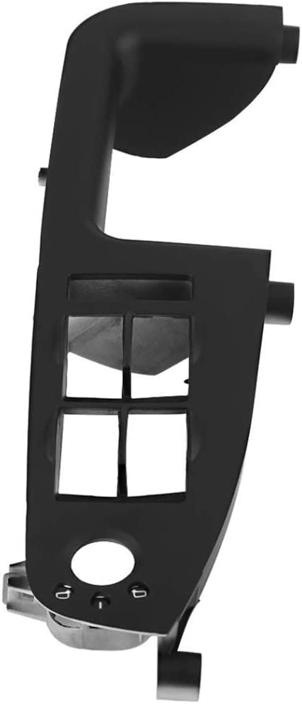 fgyhtyjuu Maestro manija de Puerta del Interruptor de la Ventana de Cristal Cubierta Ascensor Bisel Recorte 3B1867171E Negro Gris Beige