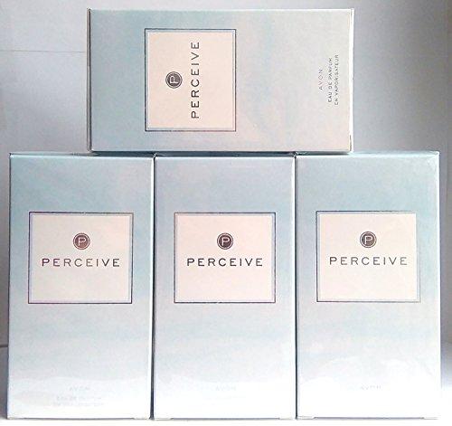 4 x AVON Perceive Eau de Parfum 50ml - 1.7fl.oz. SET ! - Perceive Eau De Parfum