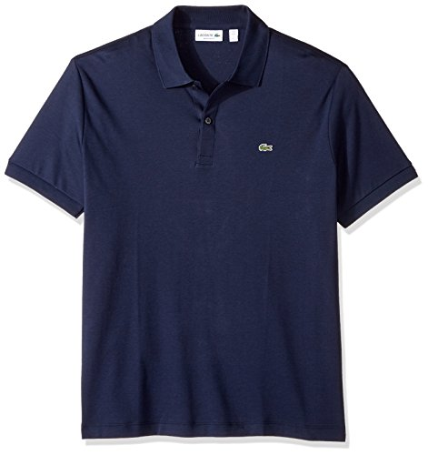 Lacoste Men's Short Sleeve Pima Jersey Interlock Regular Fit