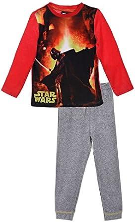 Pyjama Velours b/éb/é gar/çon Star Wars Dark Vador Je suis Ton p/ère de 3 /à 24mois