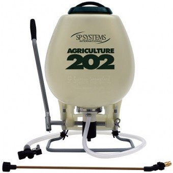 SP Systems 202 4-Gallon 120 PSI Agricultural Series The Piston Backpack Sprayer