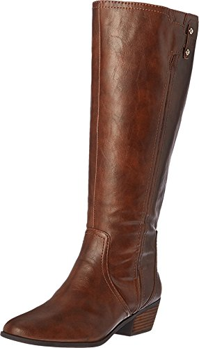 Extra Calf Wide Boot (Dr. Scholl's Shoes Women's Brilliance Wide Calf Riding Boot, Whiskey, 8 M US)