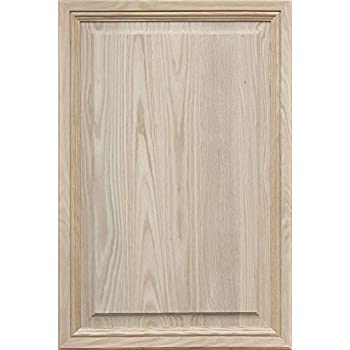 Kendor Unfinished MDF Cabinet Door Square with Raised Panel 16H x 24W