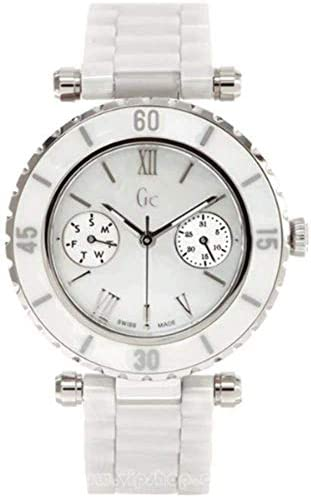 GUESS GC DIVER CHIC White Ceramic Timepiece
