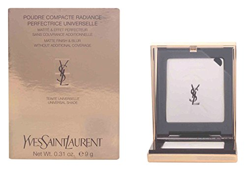 - Yves Saint Laurent Poudre Compact Radiance Perfection Universelle, Matte Finish and Blur, 0.31 Ounce